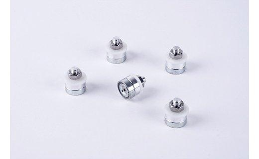 Magnetic Pillars for Milling Bath, Set of 5 1 Stepcraft Greece - CNCshop.gr
