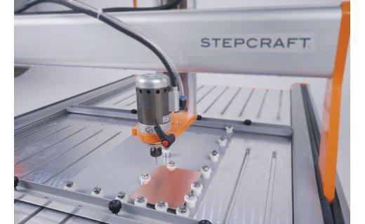Suspended Workpiece Holder 1 Stepcraft Greece - CNCshop.gr