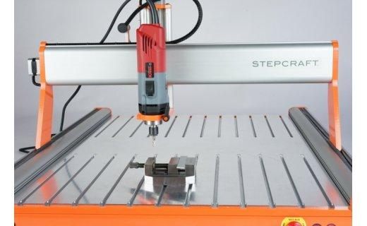 T-Slot Aluminum Table D.840 4 StepCraft CNC Systems CNCshop.gr Stepcraft Greece