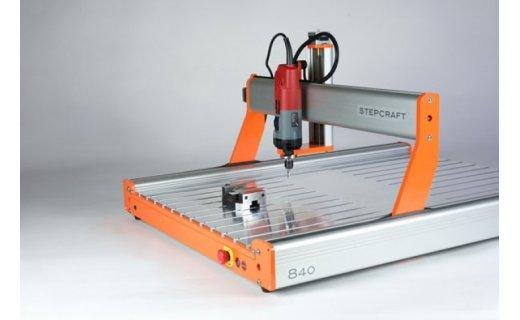 T-Slot Aluminum Table D.840 2 StepCraft CNC Systems CNCshop.gr Stepcraft Greece
