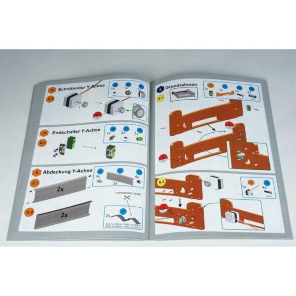 STEPCRAFT-2/D.300 Construction Kit 8 StepCraft CNC Systems- CNCshop.gr Stepcraft Greece
