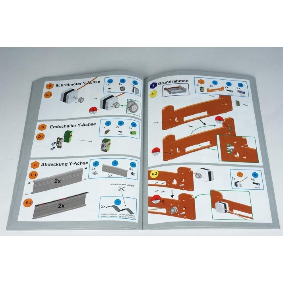 Stepcraft D-Series 12 StepCraft CNC Systems- CNCshop.gr Stepcraft Greece